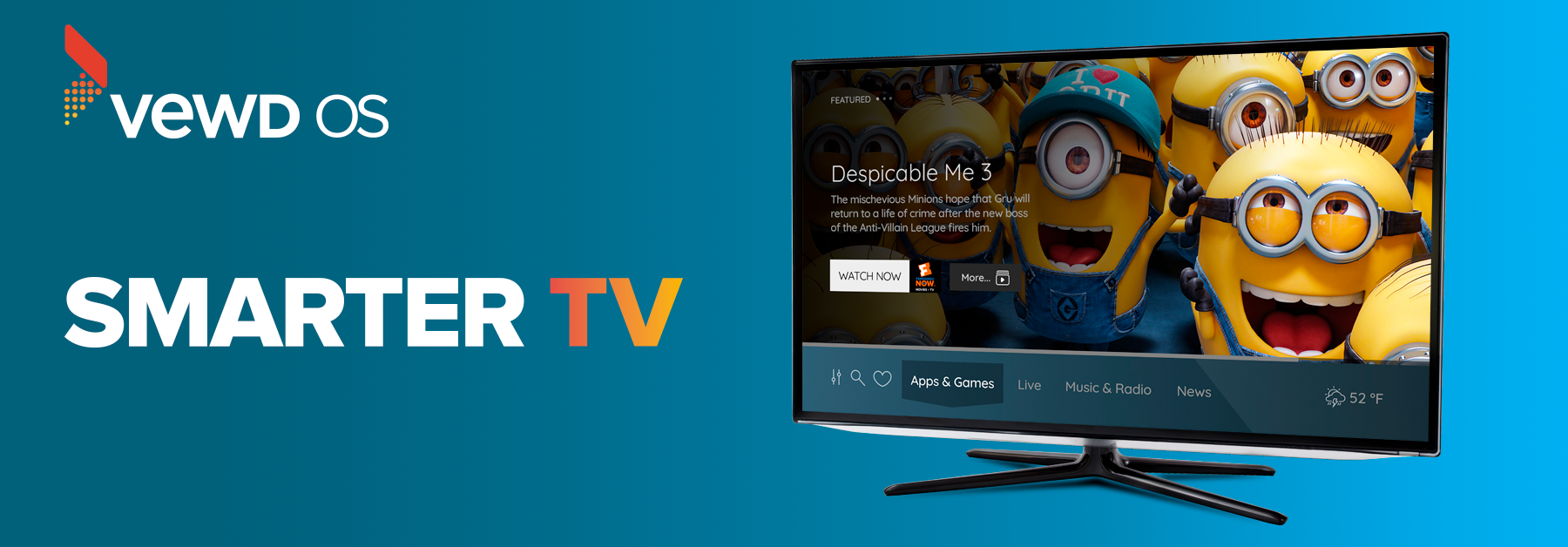 Vewd makes TVs smarter with new product: Vewd OS - Vewd