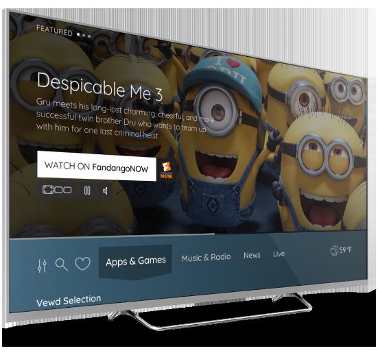 Vewd OS  Smarter TV