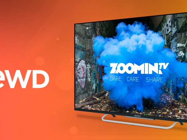 Vewd and Zoomin.TV campaign graphic
