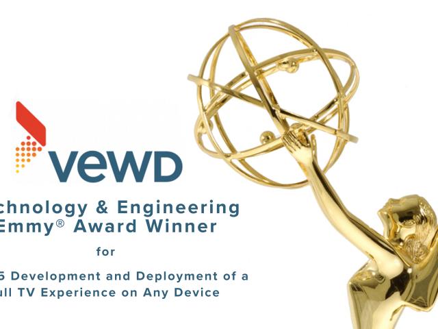 VEWD Emmy Award