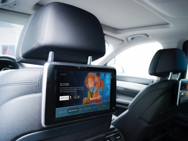Vewd for Automotive rear seat display